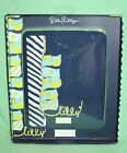 Lilly Pulitzer iPad Cover Navy Blue Nautical Youre Flagged NIP New