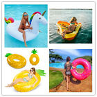 Inflatable Swim Ring Swimming Pool Fun Water Float Raft Beach Swim Toy 2016