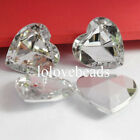 25MM Clear Heart Culet Rhinestone Acrylic Diamond Scrapbooking DIY Decoration
