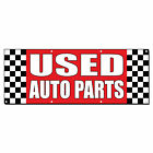 Used Auto Parts Auto Body Shop Car Repair 13 Oz Vinyl Banner Sign With Grommets