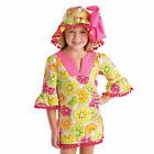 Mud Pie Tutti Frutti Yellow Citrus Tunic  9M-5T #1142112 NWT