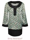 Ladies Womens Vintage Retro Tunic Summer Dress Gypsy Long Blouse Top Printed