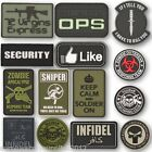 TACTICAL PVC PATCH INFIDEL TALIBAN ZOMBIE SNIPER ARMY PAINTBALLING