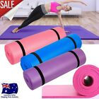 Extra Thick 15mm NBR Yoga Mat Gym Pilates Fitness Exercise Balance Board 3 Color
