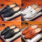 New Mens Fashion Oxfords Casual Matte Leather Slip On Driving Boat Loafers Shoes