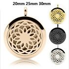 316L Steel Locket Pendant for Aromatherapy Essential Oil Prefume Necklace Gift