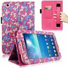 For Samsung Galaxy Tab 3 8 Inch T310 Hand Strap PU Leather Card Slot Stand Case
