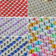 918pcs X 3mm Crystal Rhinestone Diamante Decor Gems Self Adhesive Stick on B9