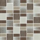 Fusion Brown Glass Mosaic Tiles - Backsplash/Bathroom Tile - Squares/Rectangles