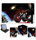 New Sonic Shadow the Hedgehog Apple Ipad 2 3 4 Air Mini Flip Case Cover