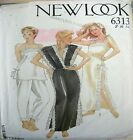 New Look Sewing Pattern 6313 Ladies Retro Lingerie Sizes 8-12