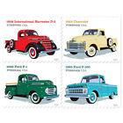USPS New Pickup Trucks Booklet of 20