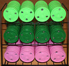 """NEW Green Biscuit Hockey Puck - Passing/Training, Snipe Shooting & Pink (3""""x1"""")"""