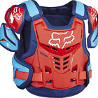 NEW FOX RACING 2017 ADULT BLUE RED RAPTOR VEST PROTECTION WRAP AROUND PROTECTOR