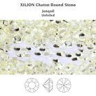 Genuine SWAROVSKI 1028 XILION Chaton Round Unfoiled Clear Crystals * Many Colors