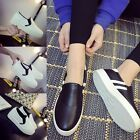 Fashion Women's Breathable Casual Leather Outdoor Sneakers Sports Walking Shoes