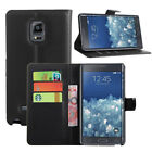 Flip PU Leather Card Wallet Stand Case Skin Cover For Samsung Galaxy Note Edge