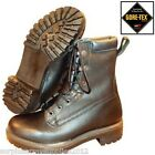 BRITISH ARMY GORETEX PRO BOOTS BLACK WATERPROOF WALKING SHOES CADET FISHING