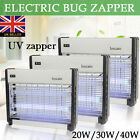 220V 20W 30W 40W Electric UV Mosquito Bug Zapper Fly Insects Moth Killer Catcher