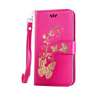 Butterfly Card Wallet Leather Flip Case Cover For Lenovo A1000 A2010 A5000 A6000