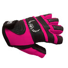 WORK OUT GLOVES LEATHER WEIGHT LIFTING GYM EXERCISE TRAINING CROSS FIT MEN WOMEN