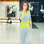 2017 elegant  Ms fashion long-sleeved two-piece leisure sport suits