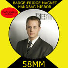 Sean Murray- Special Agent Timothy McGee-NCIS -58mm BADGE-FRIDGE MAGNET -MIRROR