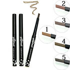 Eyebrow Eyeliner Waterproof Smooth Automatic Pencil Powder Shapper Makeup Girl