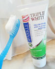 Sparkle Triple White Toothpaste Yellow Stain Plaque Removal Fresh Breath