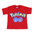 Pokemon Go Kids and Youth T-Shirt Red