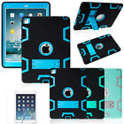 Shockproof Heavy Duty Rubber Hard Kickstand Case Cover For Apple iPad Mini 1 2 3