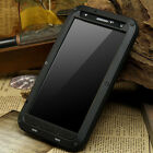Waterproof Shockproof Aluminum Gorilla Glass Metal Case Cover For Samsung Model