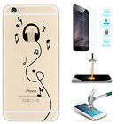 Ultra Thin Clear Transparant TPU Dust Plug Soft Case Cover For iPhone 6s/6 Plus