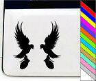 "Two Hunting Eagle 6""x 6""Vinly Car Door Window Bumper Sticker Decal Auto"
