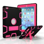 Wholesale Shockproof Case Cover Rubber w/Stand For iPad 2/3/4 A1395 A1416 A1458