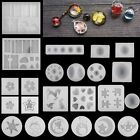 DIY Silicone Pendant Mold Making Jewelry Pendant Resin Gem Mould Handmade Craft