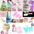 Lace Bow Shoe Cake Fondant Embossing Mould Cookie Icing Cutters Mold Baking Tool