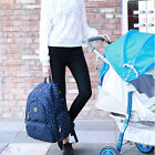 New Mummy Backpack Baby Nappy Diaper Bag Light Changing Bags Backpack F7