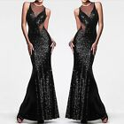 Women's Long Sexy Evening Party Ball Prom Gown Formal Cocktail Bridesmaid Dress