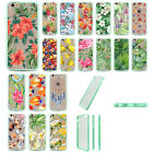 Retro Floral Summer Leave Shockproof Soft TPU Bumper Case For Iphone 7Plus 5S 6S