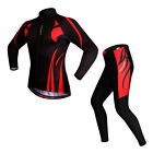 Black Unisex Mens Bike Bicycle Cycling Outdoor Wear Riding Padded Jersey Pants