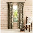 Camouflage Realtree Window Curtains Set of 2 Camo Curtain Valance Drapes Woods