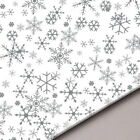 Christmas Snowflake Acid Free Tissue Paper Sheets Gifts Hampers - 18gsm