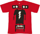 The Big Bang Theory Bazinga T-shirt Shel Bot Sheldon Cooper Funny Shirts S-2XL