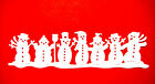 8 Cute Frosty Friends Snowmen Die Cuts, Cottage. Cc. Many Colours & Cards