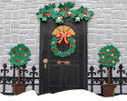 6 Opening Front Door Embossed Die Cuts, Christmas, JC. Any Colour/Card