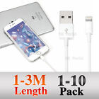 1/2/3M 8Pin USB Data Charger Cable For iPhone 7 6S 6 Plus 5S iPad Air Mini iPod