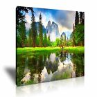 NATURE Lake Canvas Landscape Framed Printed Wall Art 15 ~ More Size