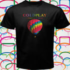 Coldplay - A Head Full of Dreams Tour 2016 Men's Black T-Shirt Size S to 3XL