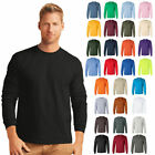 Gildan Ultra Cotton Mens Crewneck Long Sleeve T-Shirt S-5XL - 2400 image